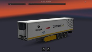 Standalone Renault F1 Trailer
