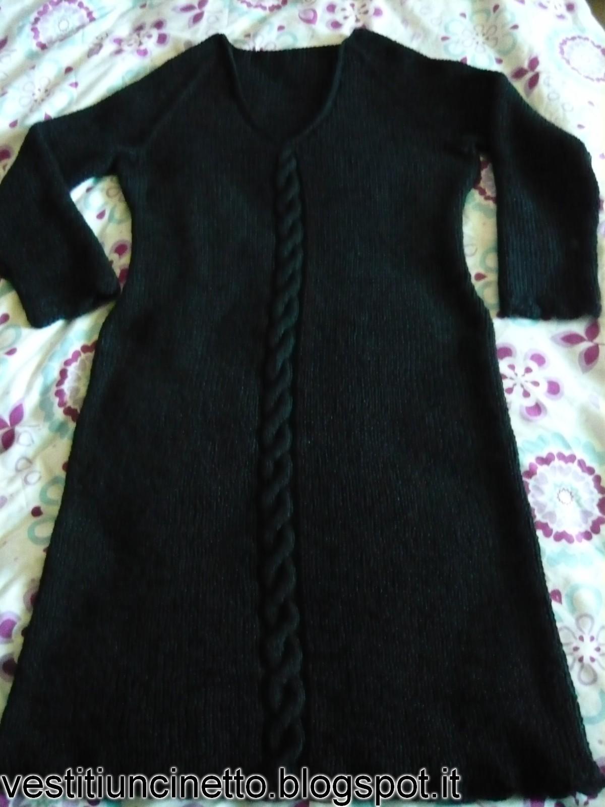 Ben noto Vestiti uncinetto e ferri: abito donna GT97