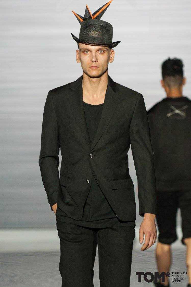 Xian Spring Summer 2018 Toronto Fashion Week Male