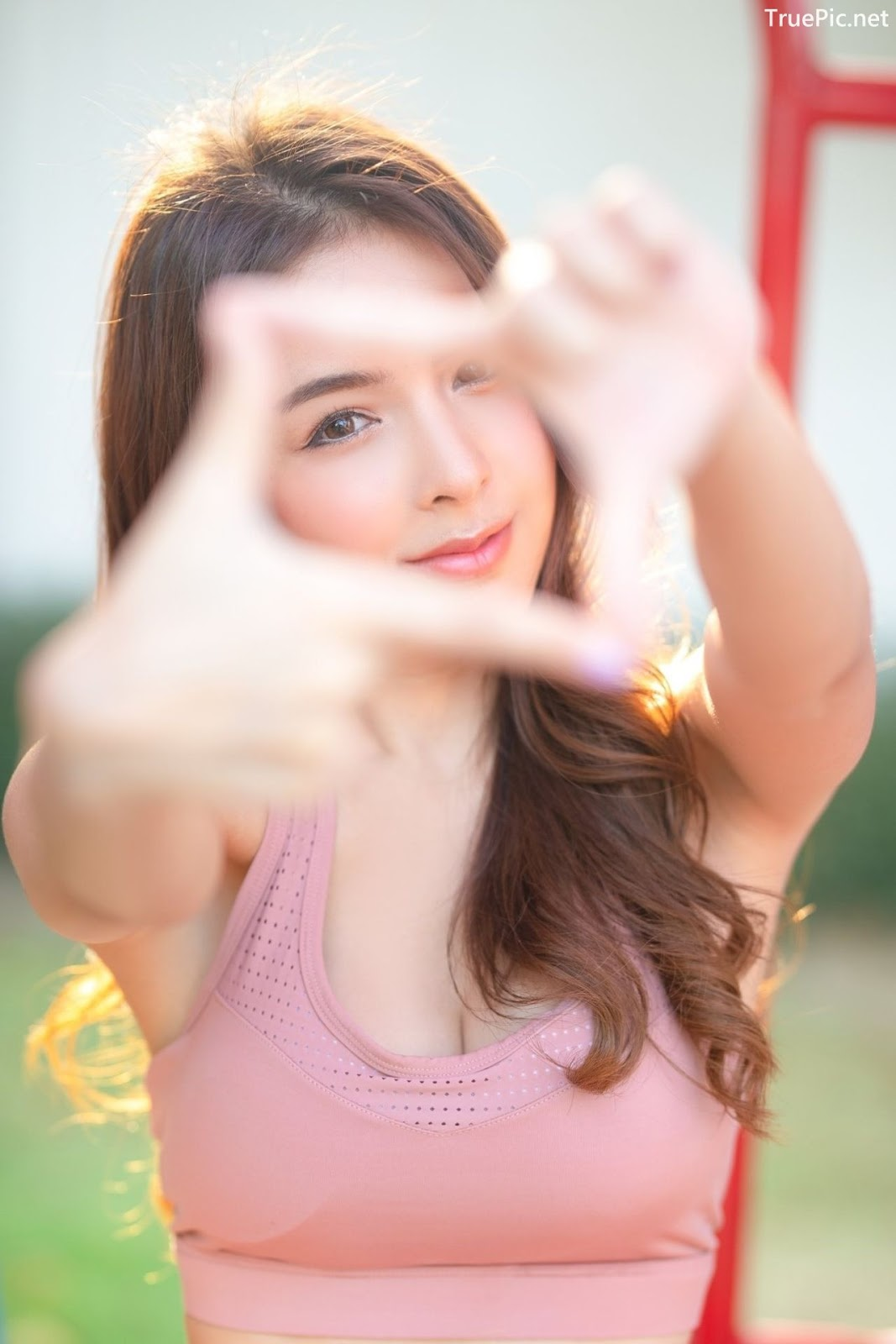 Image-Thailand-Beautiful-Model-Soithip-Palwongpaisal-Pink-Fitness-Girl-TruePic.net- Picture-5