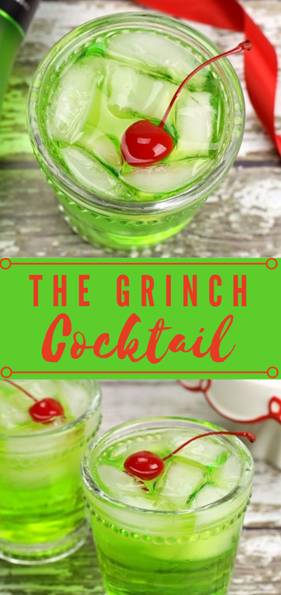 THE GRINCH COCKTAIL #drink #cocktail #smoothie #fresh #healthydrink