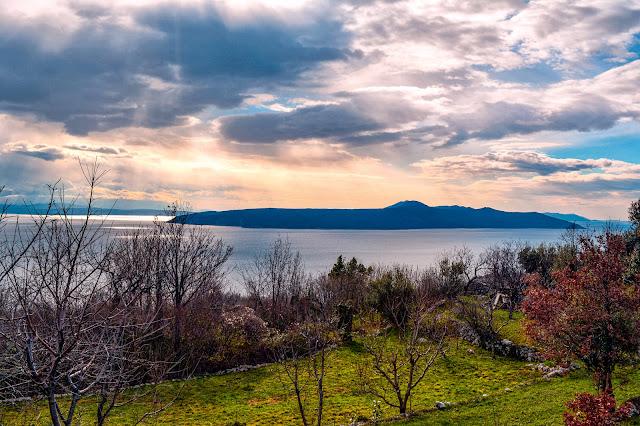 Pogled na otok Cres iz Obrša