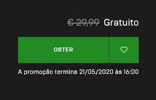 GTA V disponível grátis para PC