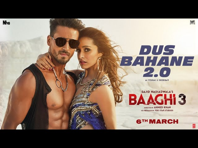 Dus Bahane 2.0 lyrics - baaghi 3