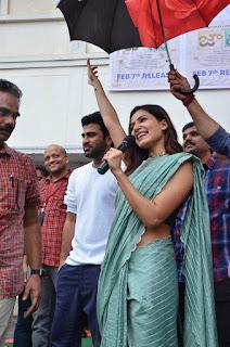samantha-stills-jaanu-movie-team-visit-vizag-raghu-engineering-college