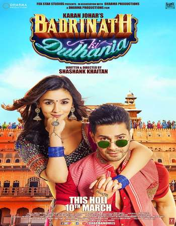 Badrinath Ki Dulhania 2017 Hindi 700MB DVDScr x264