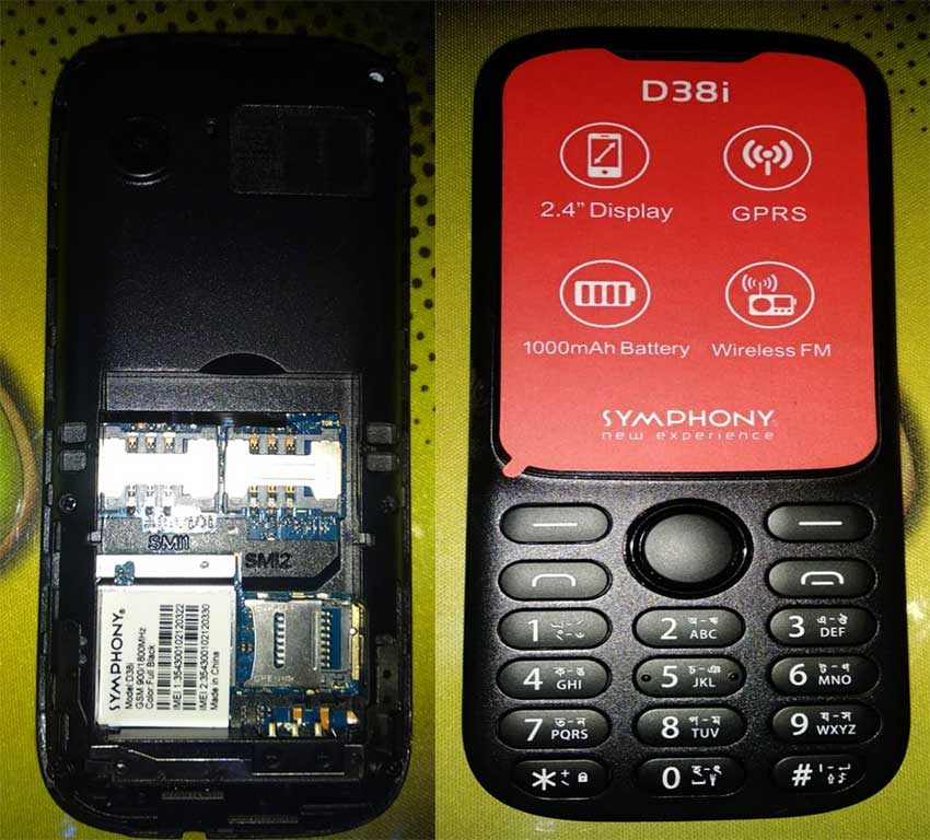 Symphony D38i Flash File (Stock Rom) Firmware Free Download - Mobile