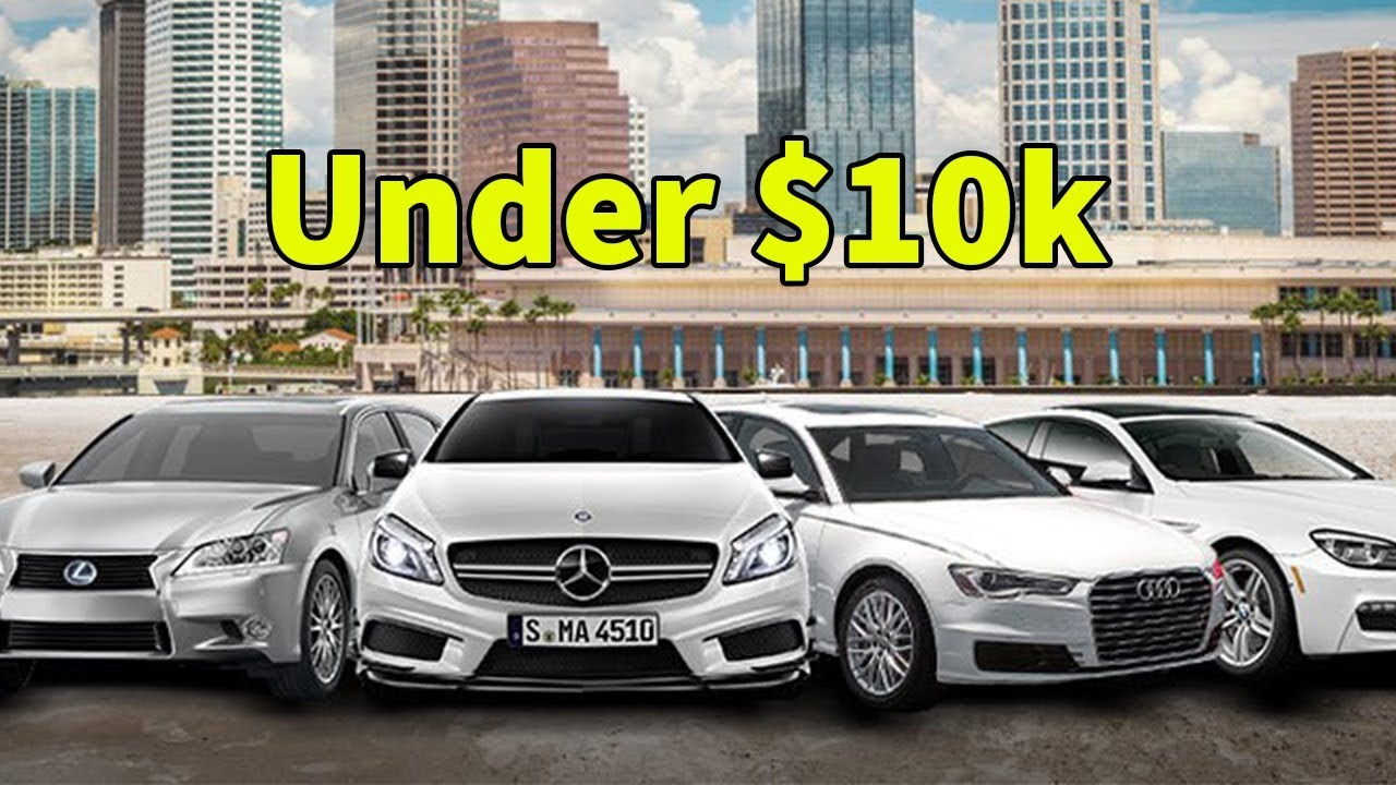 10 Used Luxury Cars under $10000 for Sale