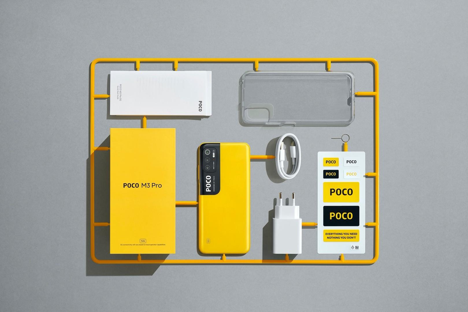 Nuovo POCO M3 Pro, smartphone 5G a 150 euro