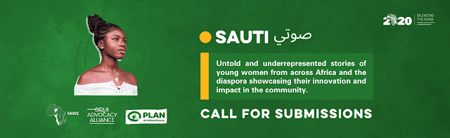 """Call for Submissions: African Young Feminist Blog """"Sauti"""""""
