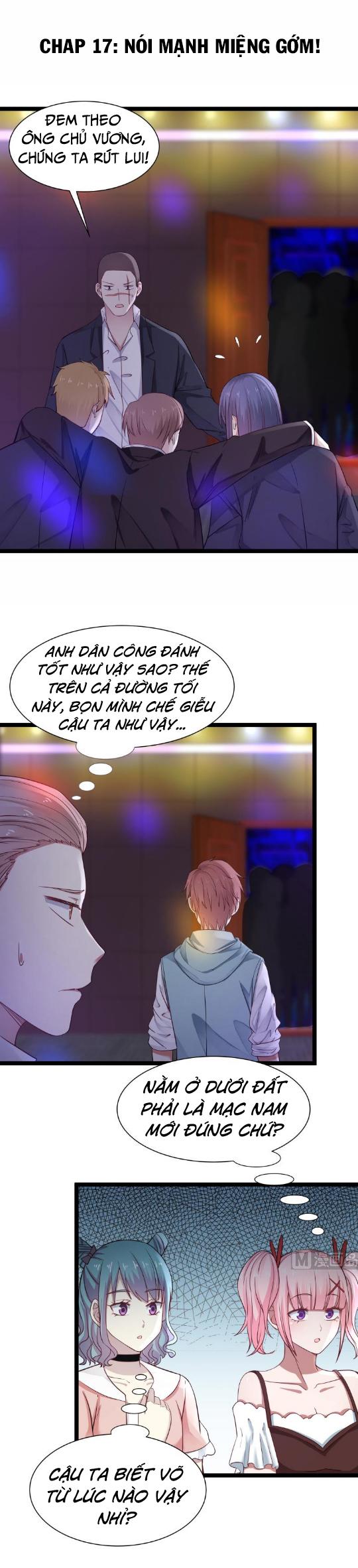 Trên Người Ta Có Một Con Rồng chap 17 - Trang 2