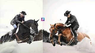Vijay Mahar Horse Rider Photo background Png