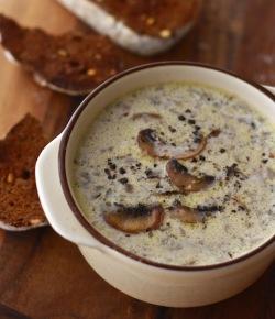 the best recipe for homemade mushroom soup