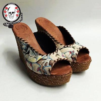 zapatos prision art