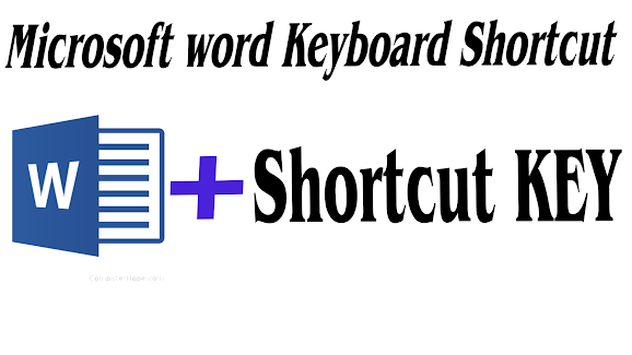 microsoft word shortcut keys list