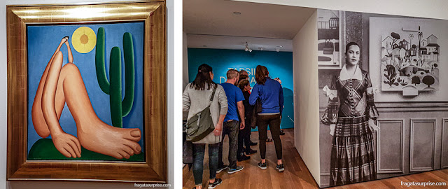 Tarsila do Amaral no MoMA de Nova York - O Abaporu