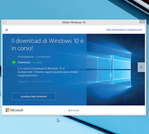 Come installare Windows 10 da Windows 8