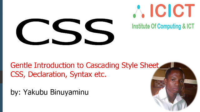 Introduction To Cascading Style Sheets (CSS) .