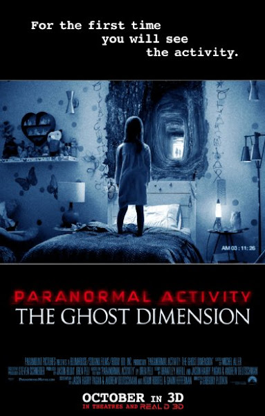 Poster Of Paranormal Activity The Ghost Dimension 2015 720p Hindi BRRip Dual Audio