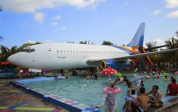 Fasilitas pesawat pantai suwuk