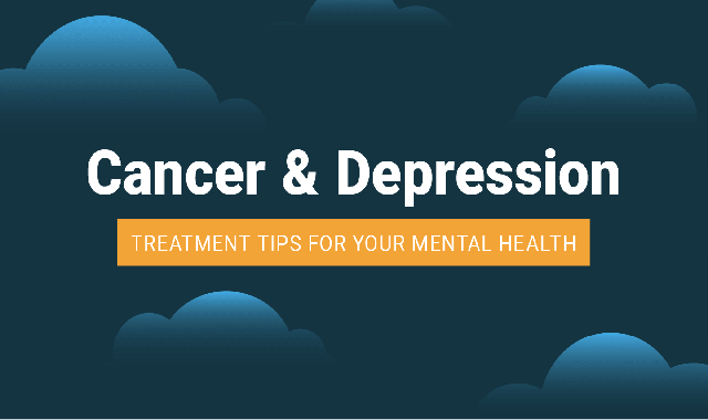 Cancer and Depression Treatment Tips For Your Mental Health #infographic