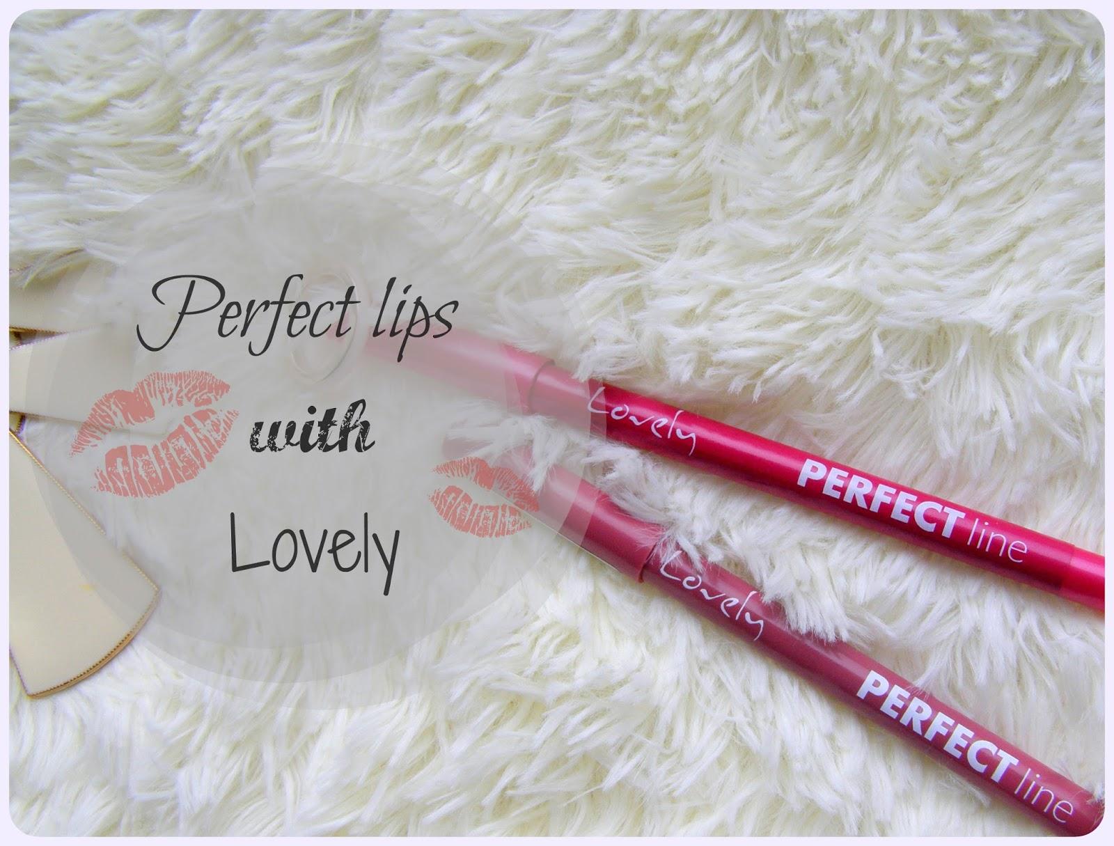 Perfekcyjne kredki do ust od Lovely