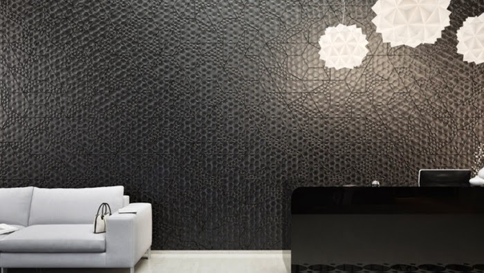 15 Dazzling decorative 3D wall panels: trends of 2017