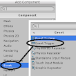 Unity's Event trigger component