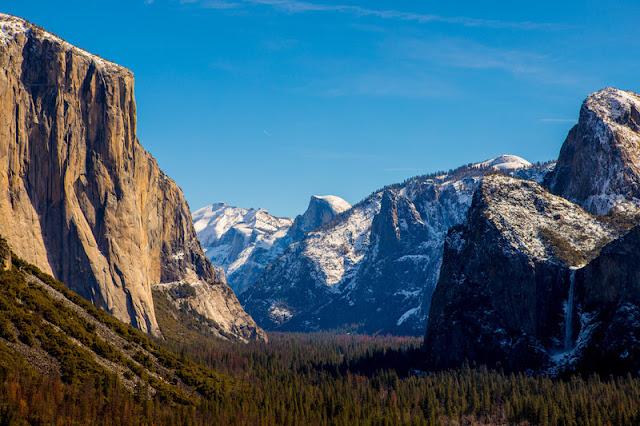 Yosemite valley of Yosemite National Park
