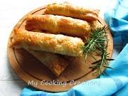 Мандраджийски банички * Involtini di pasta fillo ai formaggi