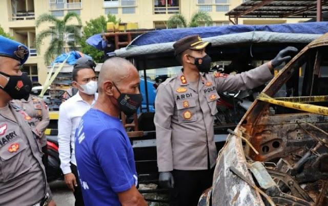 Polres Sragen Amankan Pelaku Pembakaran Mobil Jamaah Masjid Kauman