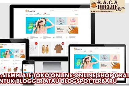 Kumpulan Template Toko Online Shop Gratis untuk Blogger atau Blogspot