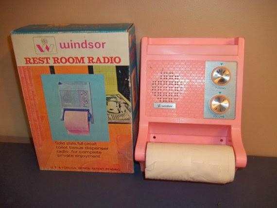 History's Dumpster: Toilet Paper Dispenser Radio