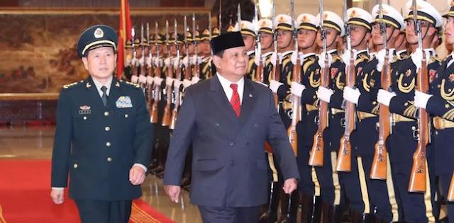 Bertemu Jenderal Wei Fenghe, Prabowo Perkuat Hubungan Pertahanan Indonesia Dengan China
