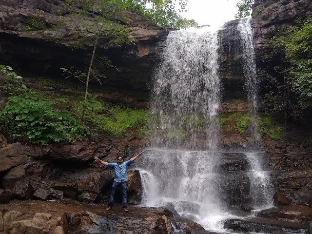 Mahal Waterfall in Dang Forest