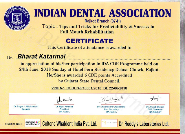 Tips and Tricks for Predictability and Success in Full Mouth Rehabilitation by Dr Sagar Abhichandani
