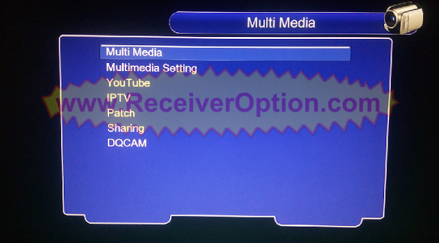 1506TV 512 4M SOG DISCOVERY DR-555HD RECEIVER NEW SOFTWARE WITH ECAST