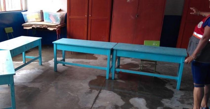 De los 395 colegios afectados por los eventos naturales 30 sufren serios daños - MINEDU - www.minedu.gob.pe