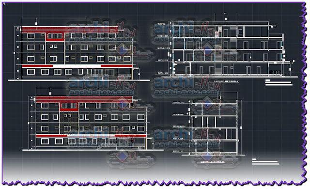 download-autocad-cad-dwg-file-topin-hospital-elevations