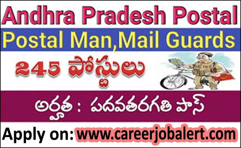 Career Job Alert Ap Postal Circle Jobs 2018 Apply Online For 245