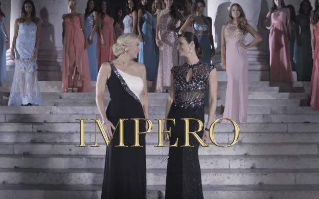 Canzone e ambientazione Pubblicità Impero Couture 2016