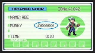 Pokemon Emerald Money Cheat