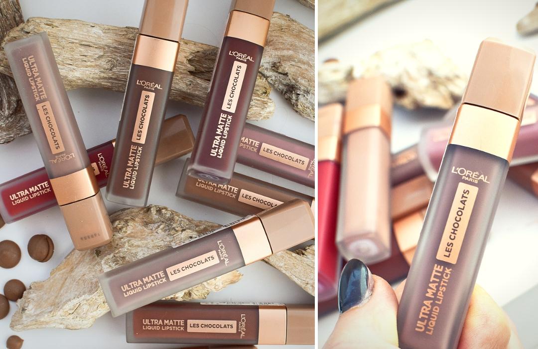 Haltbarkeit und Swatches zu den L'Oréal Paris Les Chocolats