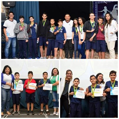 Colégio CCI - Premiação Concurso Canguru da Matemática 3º ao 8º ano  Participantes recebem certificado e medalha pelo bom desempenho na competição