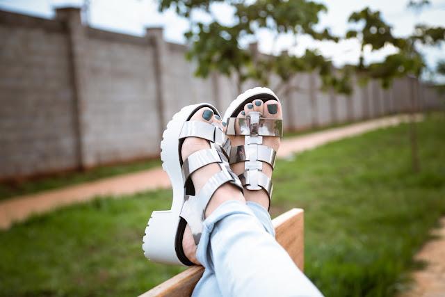 Resultado de imagem para tendencia sandalia tratorada