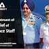 Appointment of Chief of Defence Staff