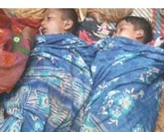 চাঁদপুরের হাইমচরে পানিতে পড়ে আপন দুই ভাইয়ের মৃত্যু