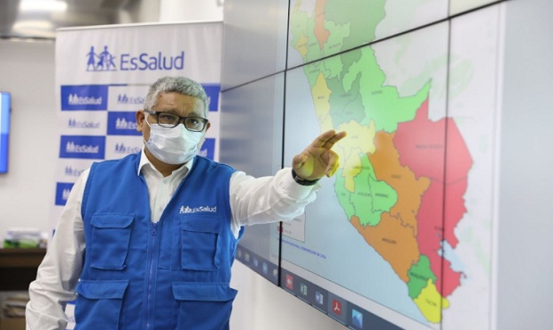 Coronavirus: contagios semanales bajaron en más de 50