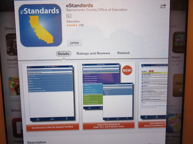 California Common Core App - Grade