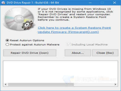 DVD Drive Repair Full İndir – DVD Rom Onarım